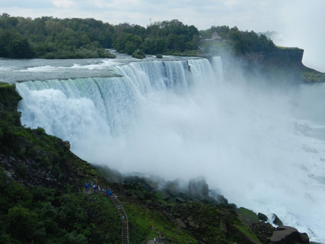 Les chutes Niagara, côté USA