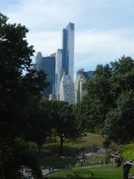Central Park en une courte visite
