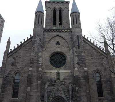 La Basilique St-Patrick de Montréal