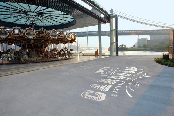 Jane's carrousel, photo Brooklyn Bridge Park