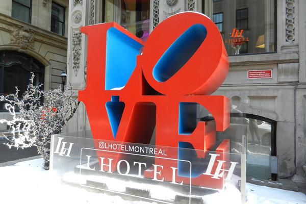 Love Sculpture, Montréal