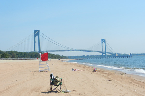 South Beach et Verrazano Bridge