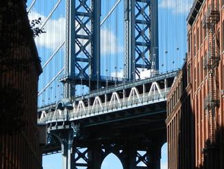 Photo classique du Manhattan Bridge
