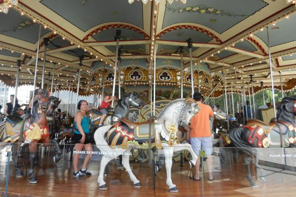 Jane's carrousel, photo Geneviève Arseneault