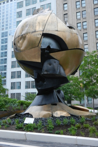The Sphere, la sphère du World Trade Center