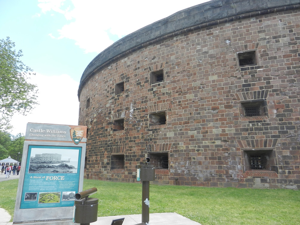 Fortification sur Governor Island