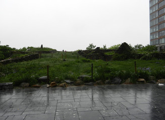 Le mémorial de la Grande Famine Irlandaise