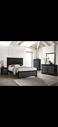 Amalia Silver Queen Bedroom Set