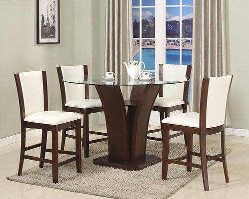Camelia Counter Height Table Set 5Pc