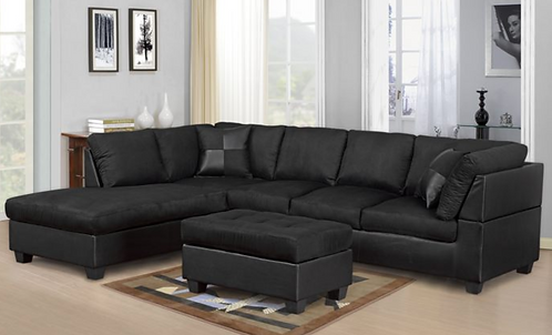 Plush Sectional With Free Ottoman!