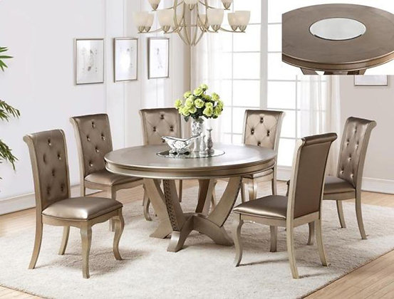 Mina Dining Table Set 5Pc (2166)
