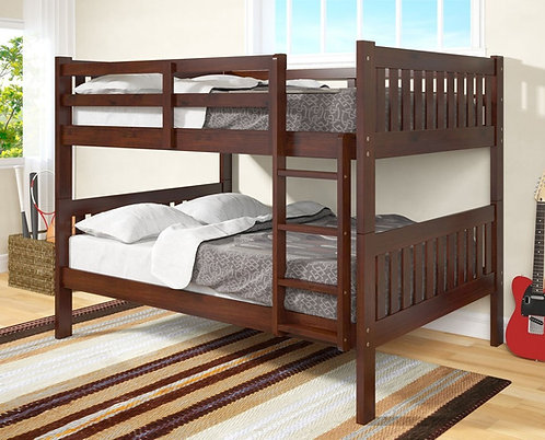 Full/Full Bunk Bed (1015)