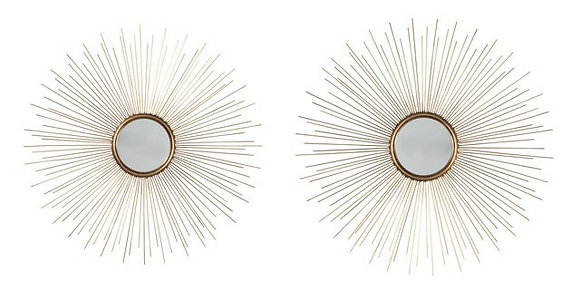 A8010054-Accent Mirror Set of 2