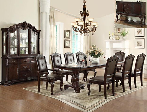 Kiera Dining Set - 7 PECS