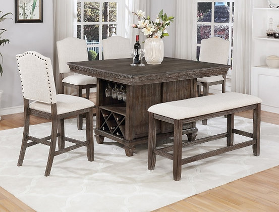 Regent Counter Height Table (2772)