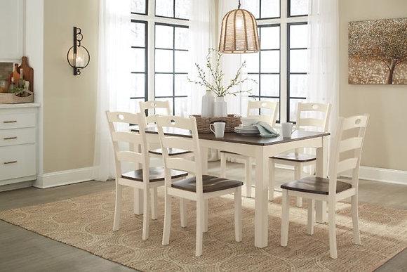 D335-7pc Dining Set