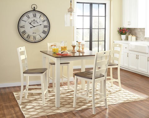 D335 Pub Height 5pc Dinette