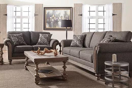 Element - S3400 Sofa & Loveseat