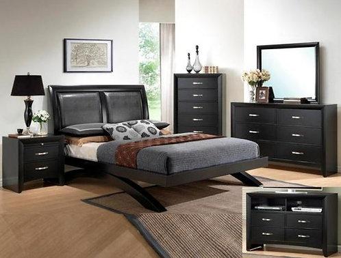 Galinda Bedroom set Crown B 4380
