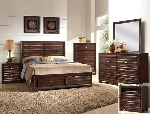 Stella Storage Bedroom Set Crown B4550