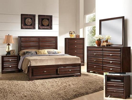 Stella Storage Bedroom Set Crown B4550