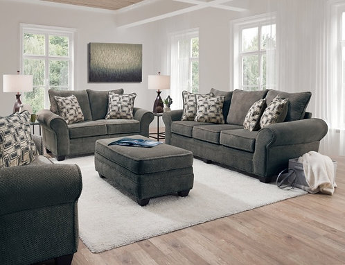 1000-Oversized Sofa & Loveseat