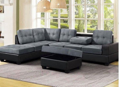 Reversible Sectional (Happy Heights)