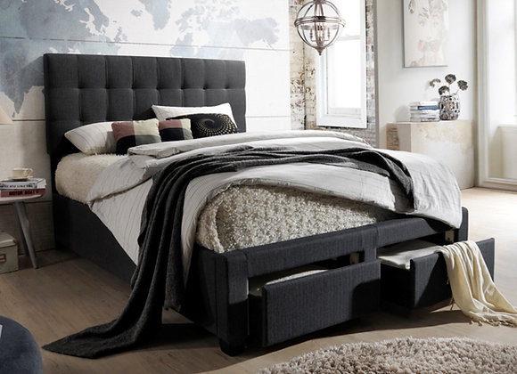 Luke Bed with Storage Drawers