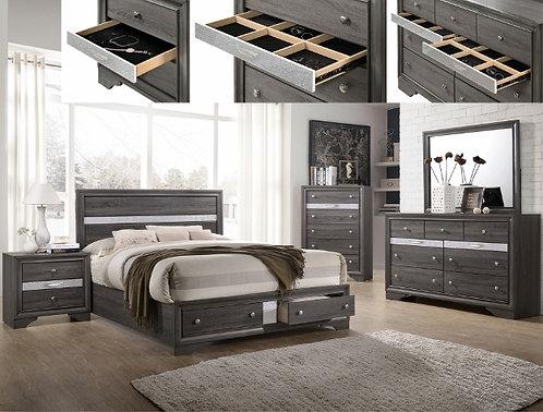 Regata Bedroom Set Crown B4650/B4670