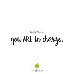You ARE in Charge