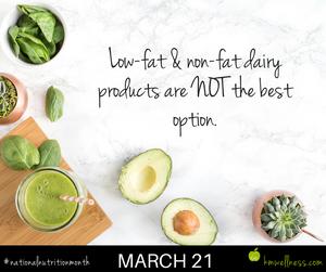 Low-fat & non-fat