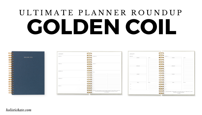 Golden Coil Ultimate Planner Roundup