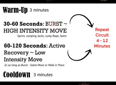 Workout Wednesday: BURST Training