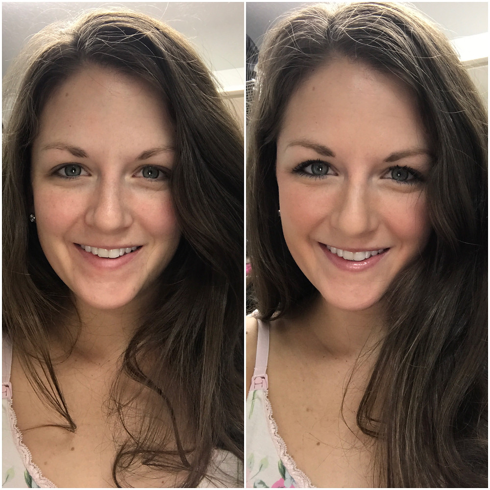 Beautycounter Before and After Makeup