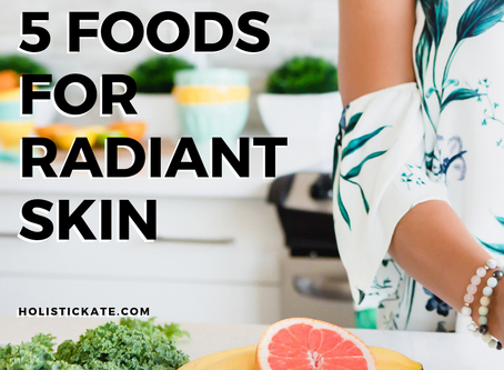 5 Foods for Radiant Skin