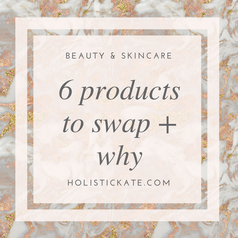 6 products to swap | safer beauty | beautycounter
