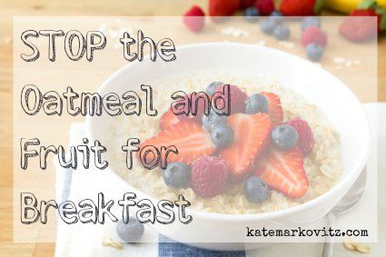 [RECIPE] Stop the Oatmeal & Fruit for Breakfast
