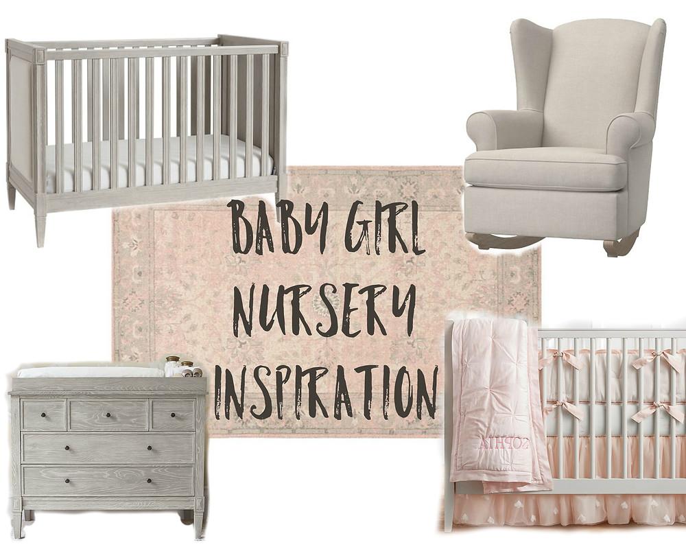 Baby Girl Nursery | Pottery Barn Kids
