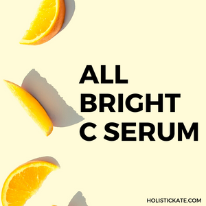 All About Beautycounter All Bright C Serum | Holistic Kate