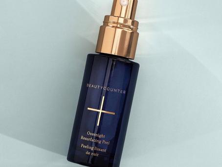 Get Glowing Skin with Beautycounter's Overnight Resurfacing Peel