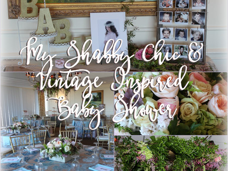 Baby Girl Shower: Shabby Chic & Vintage Inspiration
