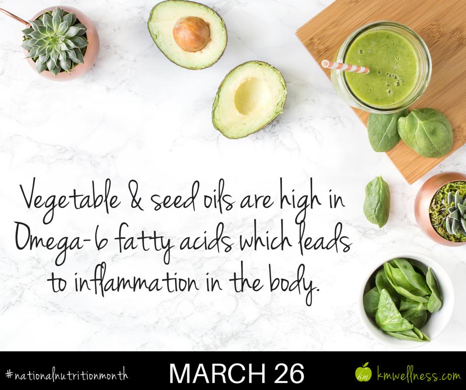 Vegetable & Seed oils