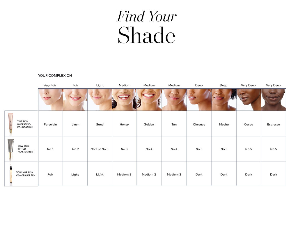Find your shade | Beautycounter | Holistic Kate