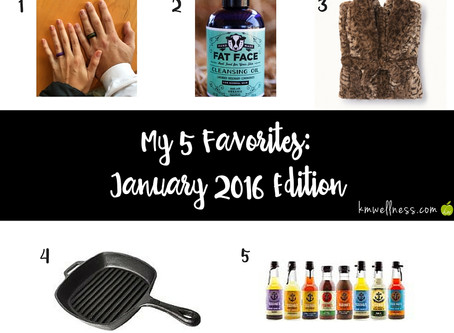 My 5 Favorites: January 2016 Edition