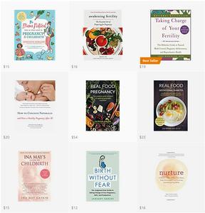 Fertility, Pregnancy, Childbirth, Labor | Motherhood Grace Book Roundup