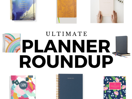 Ultimate Planner Roundup: Which is best for you?
