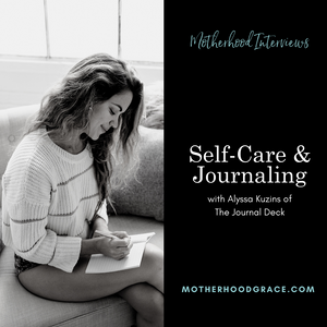 Self-Care Journaling with Alyssa Kuzins of the Journal Deck