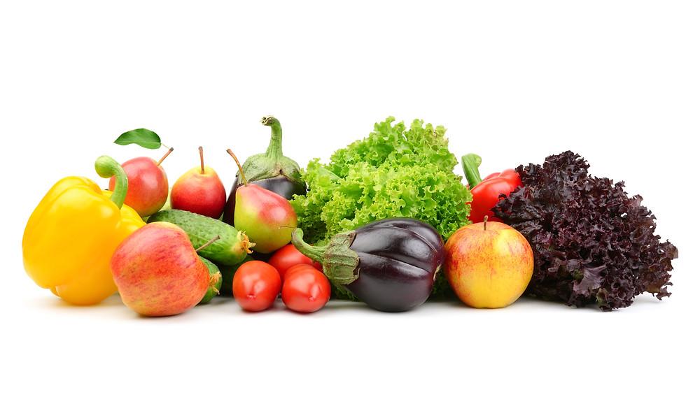 Fresh fruit & veggies
