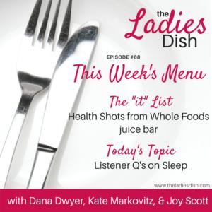 Sleep Questions | The Ladies Dish