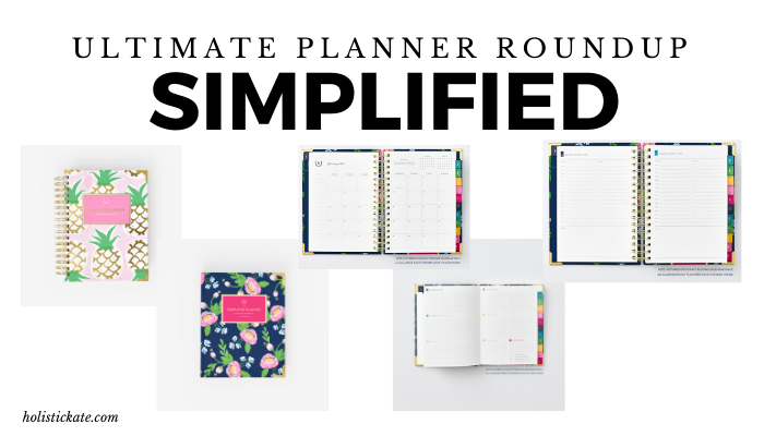 Simplified Ultimate Planner Roundup